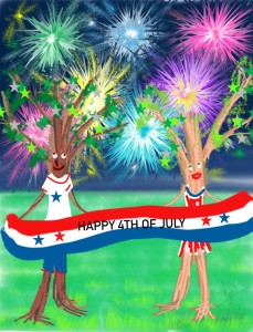 Happy Fourth!  Celebrate, Be Safe, Have FUN!